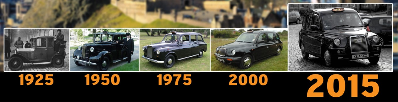 Taxis from 1925-2015