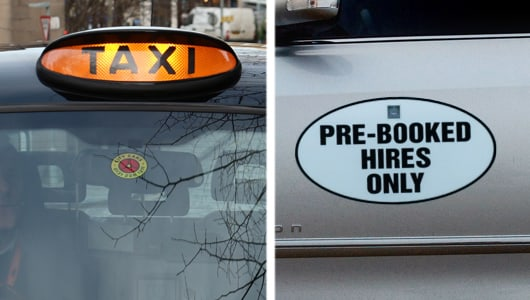 City Cabs | The Difference Between Taxis and Private Hire